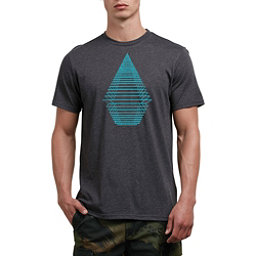 Volcom Digital Stone Mens T-Shirt, Heather Black, 256
