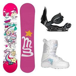 Millenium 3 Halo 3 Venus Girls Complete Snowboard Package, , 256
