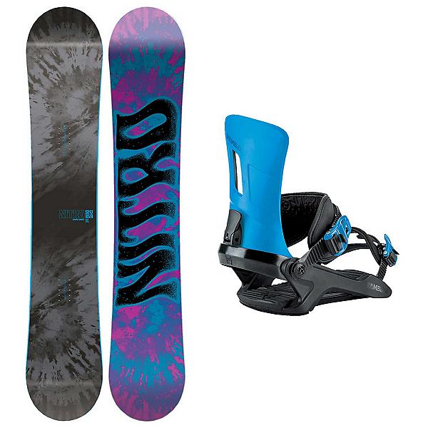 Nitro SFU Rambler Snowboard and Binding Package 2018, , 600