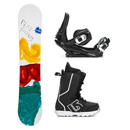 386ff9c8e578 2B1 Play Teal Fastplant Kids Complete Snowboard Package