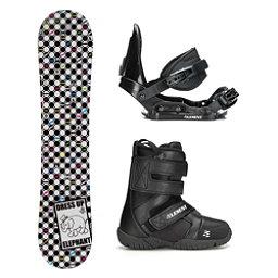 SLQ Tone Elephant Rocker ST Mini Girls Complete Snowboard Package, , 256