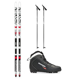 Rossignol Evo First 49 IFP X-1 NNN XC Active Cross Country Ski Package 2018, , 256