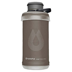 HydraPak Stash 2.0 Water Bottle 2018, Mammoth Grey, 256