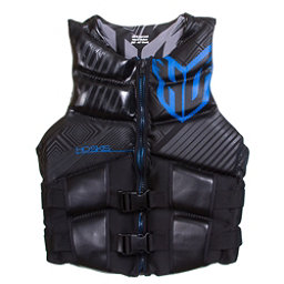 HO Sports Team Neo Vest Adult Life Vest, Black-Blue, 256
