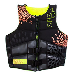 HO Sports Couture Womens Life Vest, Black-Pink, 256