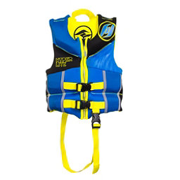 Hyperlite Childs Vest B Toddler Life Vest, Blue-Yellow, 256