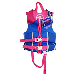 Hyperlite Childs Vest G Toddler Life Vest, Blue-Pink, 256