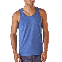Patagonia Nine Trails Singlet Mens T-Shirt, Viking Blue, 256