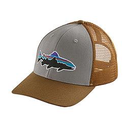 Patagonia Fitz Roy Trout Trucker Hat, Drifter Grey-Coriander, 256