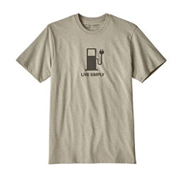 Patagonia Live Simply Power Responsibili-Tee Mens T-Shirt, , 256