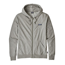 Patagonia P-6 Label Lightweight Full-Zip Mens Hoodie, Feather Grey, 256