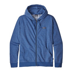 Patagonia P-6 Label Lightweight Full-Zip Mens Hoodie, Superior Blue, 256