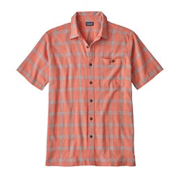 Patagonia A/C Mens Mens Shirt, Maker Small-Peak Pink, 256