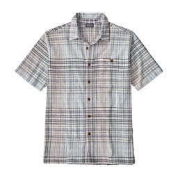 Patagonia A/C Mens Mens Shirt, Sisar-Railroad Blue, 256