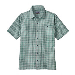 Patagonia Puckerware Mens Shirt, Little Sur-Beryl Green, 256