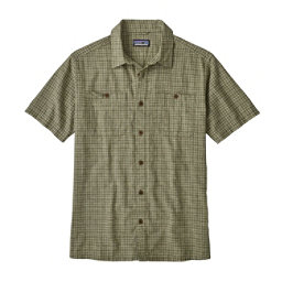 Patagonia Back Step Mens Shirt, Tino-Industrial Green, 256