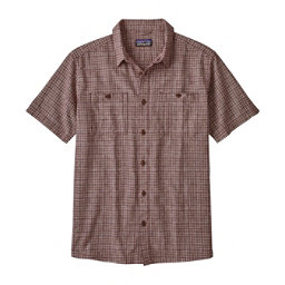 Patagonia Back Step Mens Shirt, Tino-Oxblood Red, 256