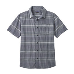 Patagonia Fezzman Regular Fit Mens Shirt, Rugby Dobby-Classic Navy, 256