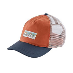 Patagonia Pastel P-6 Label Layback Trucker Womens Hat, , 256