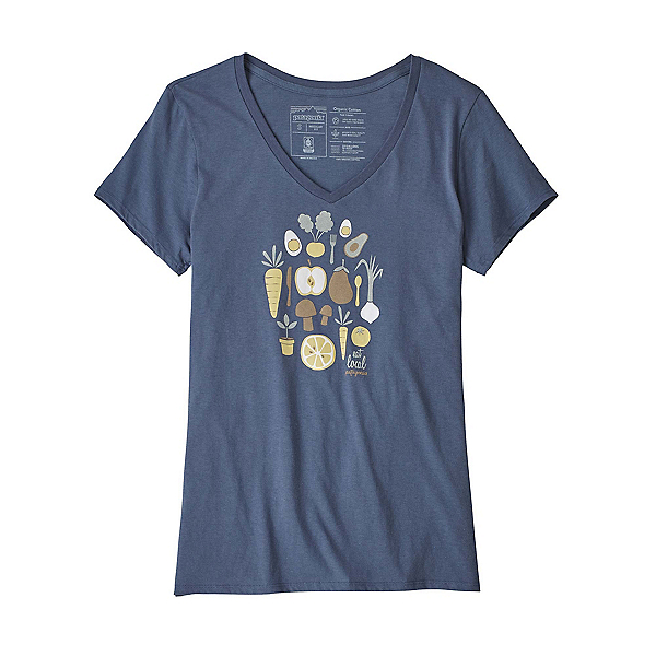 Patagonia Harvest Haul Organic V-Neck Womens T-Shirt, , 600