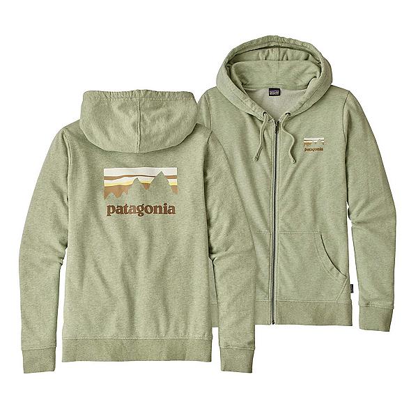 Patagonia Shop Sticker Lightweight Full-Zip Womens Hoodie, , 600