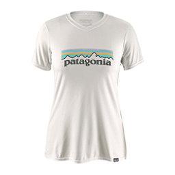 Patagonia Capilene Daily Graphic Womens T-Shirt, Pastel P 6 Logo-White, 256