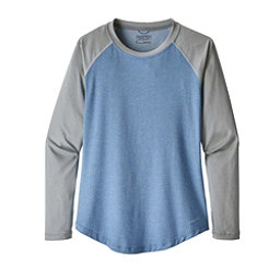 Patagonia Tropic Comfort Womens Crew, Railroad Blue, 256