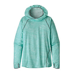 Patagonia Sunshade Womens Hoodie, Lamp Lights-Bend Blue, 256