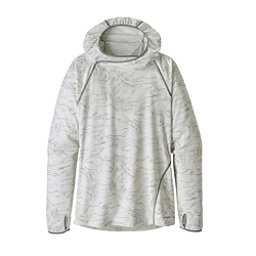 Patagonia Sunshade Womens Hoodie, Lamp Lights-Birch White, 256