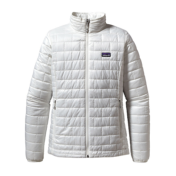 Patagonia Nano Puff Womens Jacket, Birch White, 600