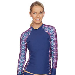 Next Herati Hydrate Womens Rash Guard, , 256