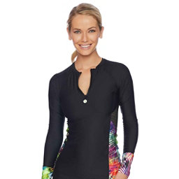 Next Spectrum Palm Hydrate Womens Rash Guard, , 256