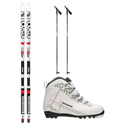 Rossignol Evo First 49 IFP X-1 FW XC Active Cross Country Ski Package 2018, , 256