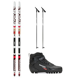 Rossignol Evo Action 50 IFP X-3 NNN XC Active ALU Cross Country Ski Package 2018, , 256