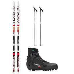 Rossignol Evo Action 50 IFP X-5 NNN XC Active ALU Cross Country Ski Package 2018, , 256