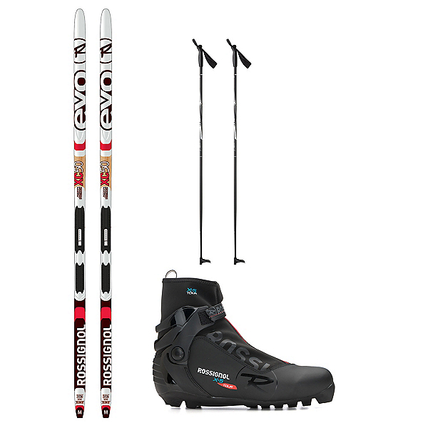 Rossignol Evo Action 50 IFP X-5 NNN XC Active ALU Cross Country Ski Package 2018, , 600