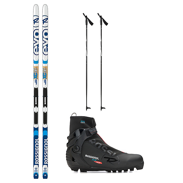 Rossignol Evo TR 60 IFP X-5 NNN XC Active ALU Cross Country Ski Package, , 600