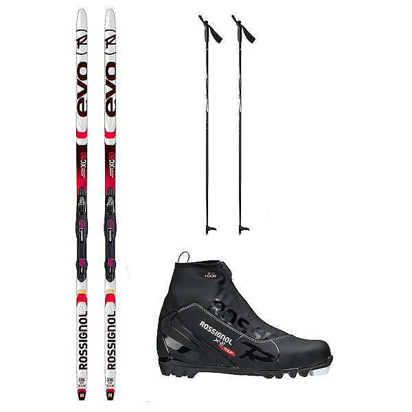 Rossignol Evo Action 50 X-2 NNN XC Active ALU Cross Country Ski Package, , 600