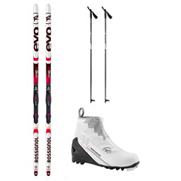 Rossignol Evo Action 50 X-2 FW XC Active ALU Cross Country Ski Package 2018, , 256