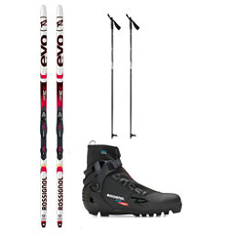 Rossignol Evo Action 50 X-5 NNN XC Active ALU Cross Country Ski Package 2018, , 256