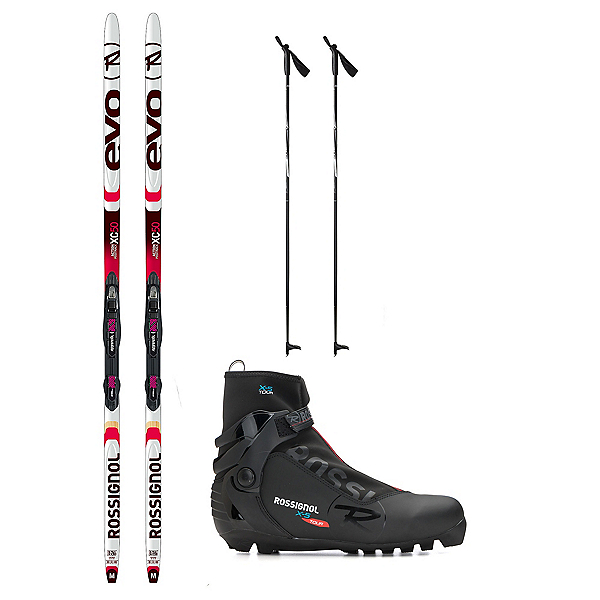 Rossignol Evo Action 50 X-5 NNN XC Active ALU Cross Country Ski Package, , 600