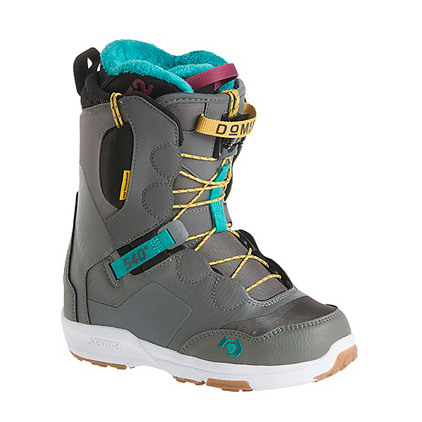 Northwave Domino Womens Snowboard Boots, Grey, 600
