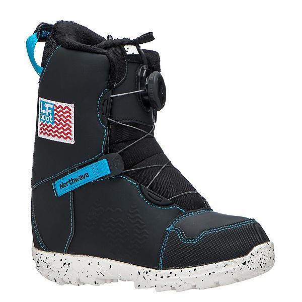 Northwave LF Spin Kids Snowboard Boots, Black, 600