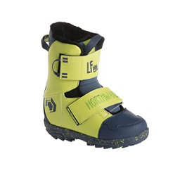 Northwave LF Kids Snowboard Boots 2018, Lime, 256