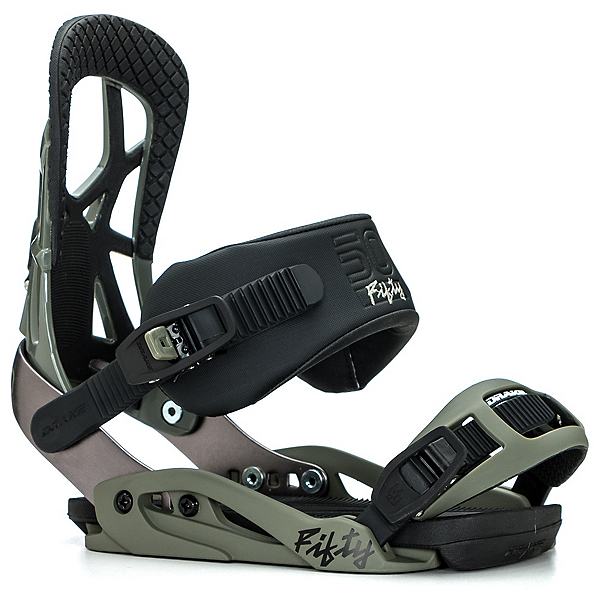 Northwave Fifty Snowboard Bindings 2018, Olive, 600