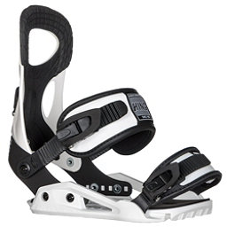 Drake King Snowboard Bindings, White, 256