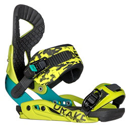 Northwave Jade Womens Snowboard Bindings 2018, Acid Yellow, 256