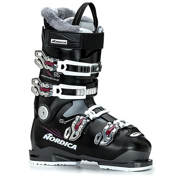 Nordica Sportmachine 65 W Womens Ski Boots 2018, Black-Purple, 600