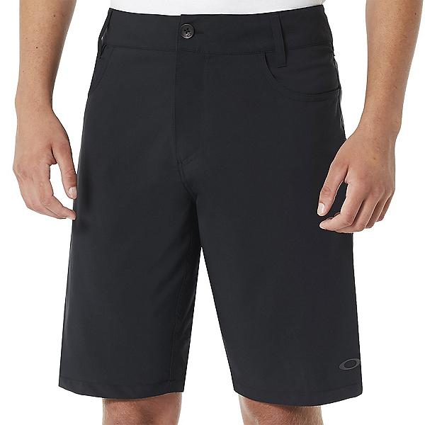 Oakley Base Line Mens Hybrid Shorts, Blackout, 600