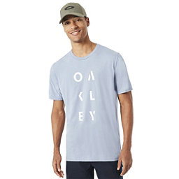 Oakley SC- Oakley Rundown Mens T-Shirt, Stonewash, 256